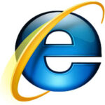 microsoft internet explorer 8 logo
