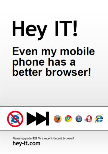 heyit: mobile phone browser