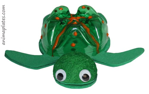 Turtle craft project - 3D